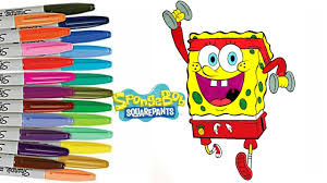 spongebob squarepants thanksgiving spongebob squarepants coloring book spongebob working out patrick