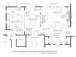 family room plans trends also kitchen floor homes picture living
