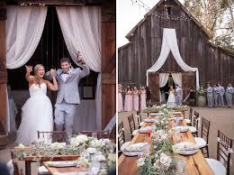 Barn Wedding San Luis Obispo Mike And Paula U0027s Wedding Celebration At La Cuesta Ranch In San