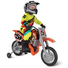 motocross pedal bike the motocross champion ride on bike hammacher schlemmer