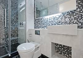 Modern Tile Designs For Bathrooms Mosaic Black And White Tile Designs For Bathrooms Amepac Furniture