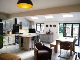 small kitchen extensions ideas fantastic rear semi detached house kitchen living extension i