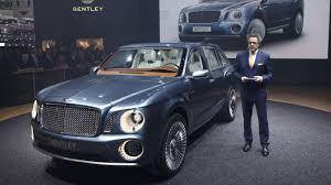 bentley suv 2016 new 2016 bentley bentayga suv revealed motoring research