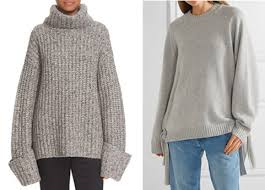 more big sweaters around town