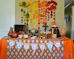 interior design amazing fall themed baby shower decorations home