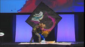 incredible upside down speed painter entertainer michael ostaski
