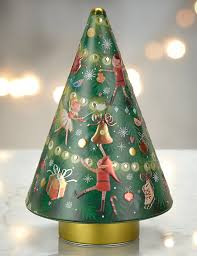 shortbread musical tree tin m u0026s