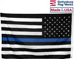 Thin Blue Line Flag Thin Blue Line Usa Flag