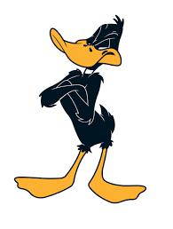 the daffy duck show daffy duck tex avery personaggi dei cartoons pinterest