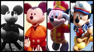 evolution of mickey mouse balloons in macy s thanksgiving day parade
