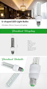 e27 8w 32 x smd5730 540lm u shaped led light bulb white everbuying
