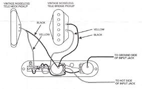 vintage noiseless treble bleed at fender pickups wiring diagram