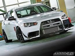 used mitsubishi evo hks cz200s lancer evolution x modified magazine