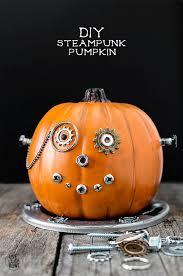 Unique Halloween Crafts - diy steampunk pumpkin starters unique and craft
