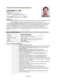 Fresher Mechanical Engineer Resume Pdf Resume For Civil Engineer 2017 Latest Sample Format 2014 791