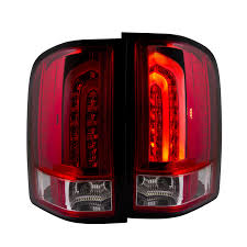 2001 silverado tail lights 2007 2013 chevy silverado g2 performance led tail lights red clear