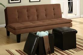 brown fabric twin size sofa bed steal a sofa furniture outlet