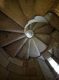 sagrada familia spiral stairs within nativity tower crazystairs