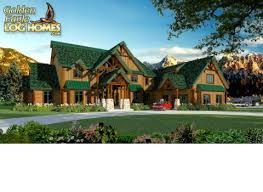 large log home floor plans golden eagle log and timber homes floor plan details big sky 9870al