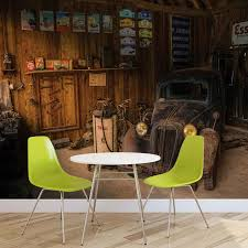 wall mural photo wallpaper xxl garage rusty old car vintage wall mural photo wallpaper xxl garage rusty old