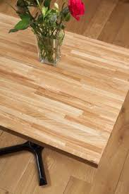 beautiful 40mm oak staves make up this rectangular 995 x 620mm