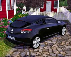 renault megane 2009 sedan fresh prince creations sims 3 2009 renault megane coupe
