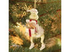 lenox grinch return to whoville figurine and ornament nib grinch