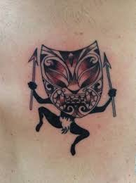 tiki man by adam considine tattoonow