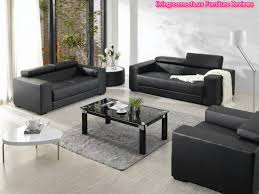 Living Room With Black Leather Furniture by Black Leather Living Room Sofas Chairs Designs