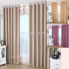 Solid Color Curtains Curtain Hanging Picture More Detailed Picture About Champagne