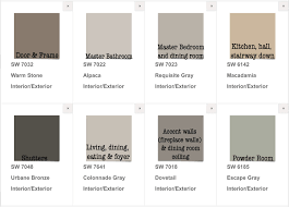 Sherwin Williams Interior Paint Colors by Finally Picked Our House Paint Colors Interior Exterior Sherwin