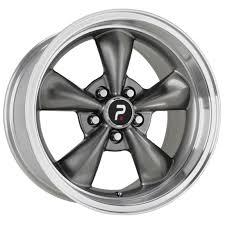 mustang replica wheels 17x9 bullitt replica anthracite silver wheels rims for ford