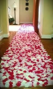 petal aisle runner diy aisle runner with petals my 23 96 diy swirl petal aisle