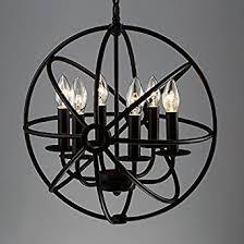 Metal Chandelier Industrial Vintage Retro Pendant Light Litfad 17