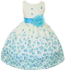 amazon com 100 cotton floral spring easter flower dress in