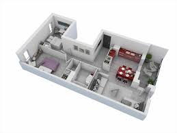 Two Bedroom Apartments 3d