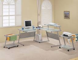 Interior Design For Home Office Beauteous 10 Home Office Glass Desks Design Ideas Of Home Office