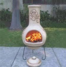 outdoor fireplace ideas fireplace ceramic chiminea outdoor fireplace decorate ideas