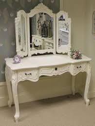 opus designs claire claire white vanity desk hutch mirror and