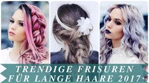 Trendige Hochsteckfrisurenen F Mittellange Haare by Trendige Frisuren Für Lange Haare 2017