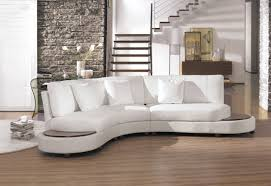 White Fabric Sectional Sofa by Modern White Leather Sectional Sofa