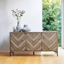 room and board zen media cabinet chevron wood storage cabinet world market