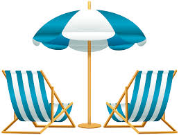 Clip On Umbrellas For Beach Chairs Beach Umbrella With Chairs Free Png Clip Art Image Gallery