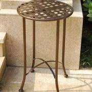 Wrought Iron Patio Side Table Wrought Iron Table Walmart Com
