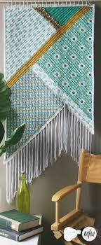 Top  Best Wall Hanging Designs Ideas On Pinterest Wall - Fabric wall designs