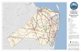 Nj Train Map Monmouth County Master Plan