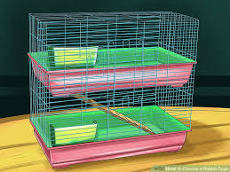 Indoor Hutches 3 Ways To Choose A Rabbit Cage Wikihow