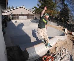 Concrete - Backyard skatepark designs