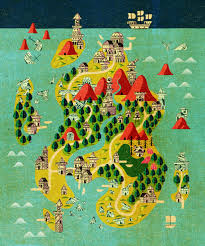 Fantasy Maps These Wonderful Fantasy Maps Show A Perfect Balance Between