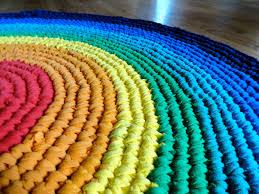 Mohawk Rainbow Rug Rugs Round Rag Rainbow Rug For Family Room Decor